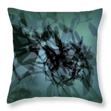 Scattered Shadows Throw Pillow