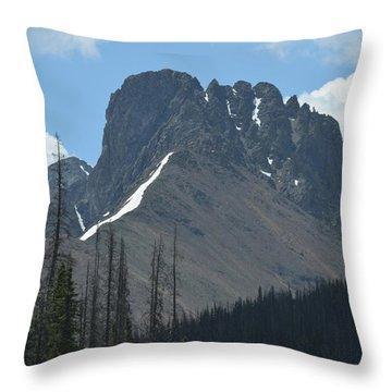 Mountain Scenery Hwy 14 Co Throw Pillow