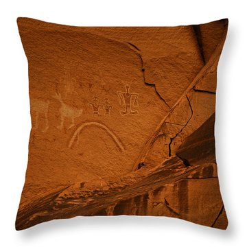 Scenes From The Southwest Throw Pillow