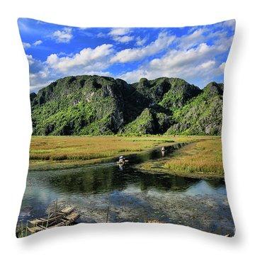 Scenic Route  Throw Pillow
