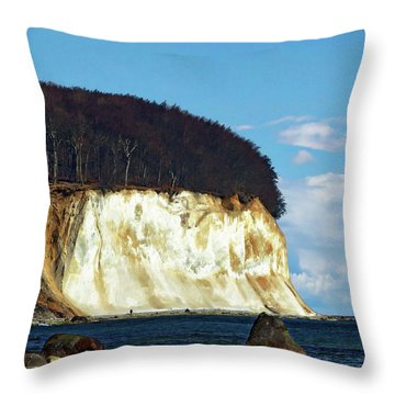 Scenic Rugen Island Throw Pillow