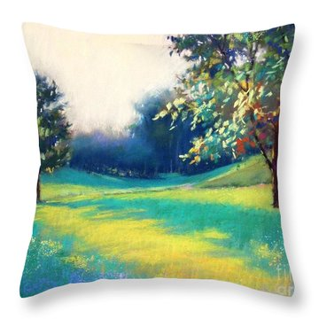 Scent Of The Fond Memory Throw Pillow