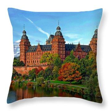 Schloss Johannisburg Throw Pillow