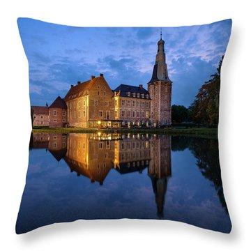 Schloss Raesfeld Throw Pillow