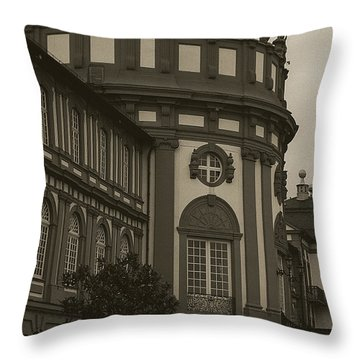 Schlosspark Biebrich Throw Pillow by Jim And Emily Bush