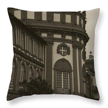 Schlosspark Biebrich Throw Pillow