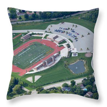 Schneider Field 2 Throw Pillow by Bill Lang