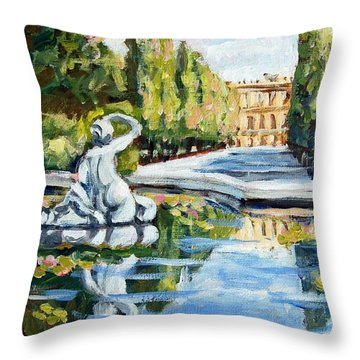Schoenbrunn Palace Throw Pillow