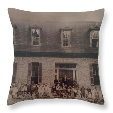 School 1895 Throw Pillow