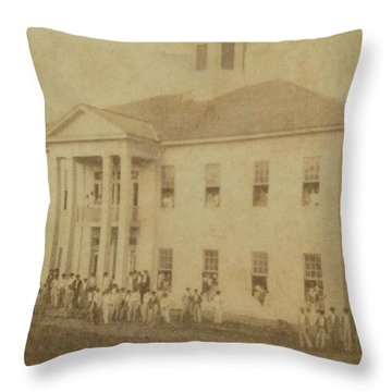 School 1901 Throw Pillow