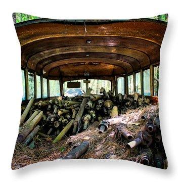 School Dayze Throw Pillow
