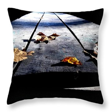 Schooled In Thought Throw Pillow