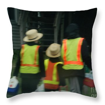 School's Out 2 Throw Pillow