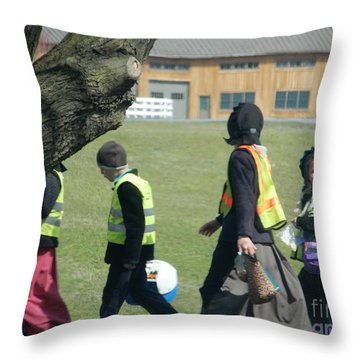 School's Out- Four Throw Pillow