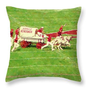 Schooner Celebration Throw Pillow