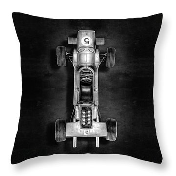 Schuco Matra Ford Top Bw Throw Pillow by YoPedro