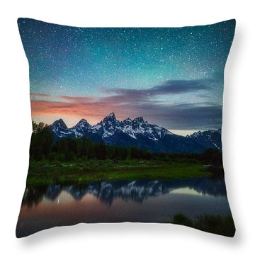 Schwabacher Nights Throw Pillow