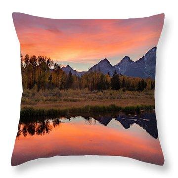 Schwabacher Sunset 2 Throw Pillow