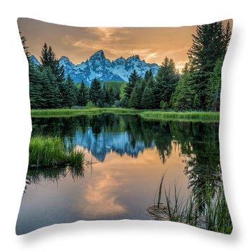 Schwabacher's Ghost Throw Pillow