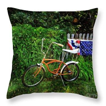 Schwinn Deluxe Stingray 65 Throw Pillow