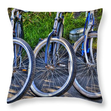 Schwinns Throw Pillow