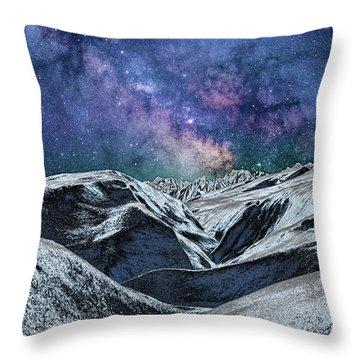 Sci Fi World Throw Pillow