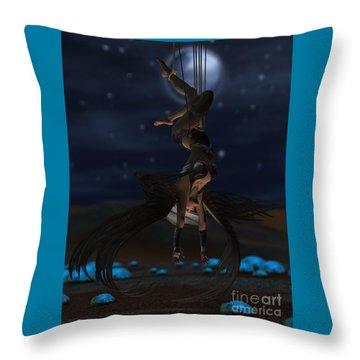 Scifi Shibari 1 Throw Pillow