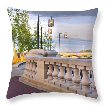 Scioto Mile 29123 Throw Pillow