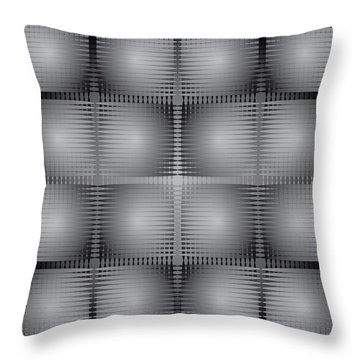 Scoopbox Wall Throw Pillow by Kevin McLaughlin