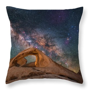 Scorpius And Its Arch Throw Pillow