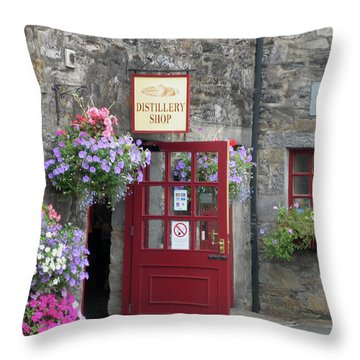Scotch Throw Pillow