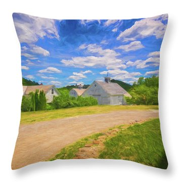 Scott Farm Vista Throw Pillow