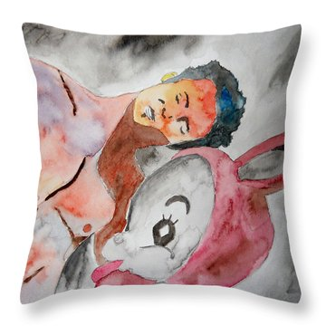 Scott Weiland - Stone Temple Pilots - Music Inspiration Series Throw Pillow