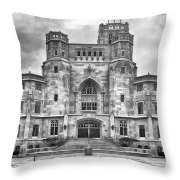 Throw Pillow featuring the photograph Scottish Rite Cathedral by Howard Salmon