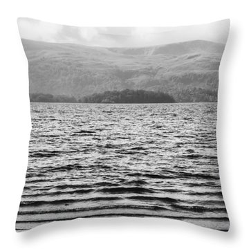 Throw Pillow featuring the photograph Scottish Shores by Christi Kraft