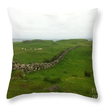 Scottish Wall Throw Pillow