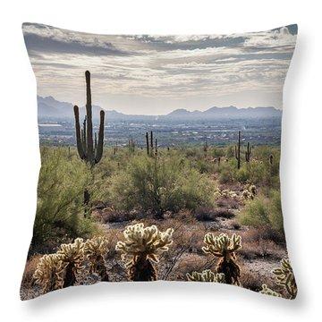 Scottsdale Arizona Throw Pillow