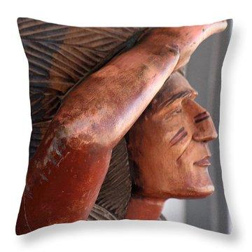 Scout - Close Up Throw Pillow