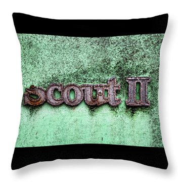Scout II Throw Pillow