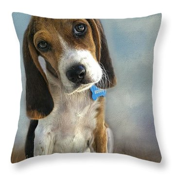 Throw Pillow featuring the photograph Scout by Steven Richardson