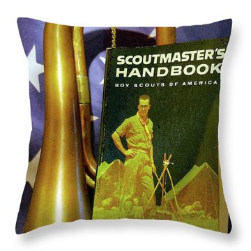 Scoutmaster Throw Pillow