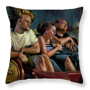 Scrambled Throw Pillow