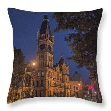 Scranton Pa City Hall Throw Pillow
