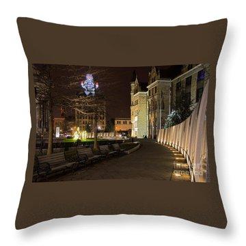 Scranton The Electric City Throw Pillow