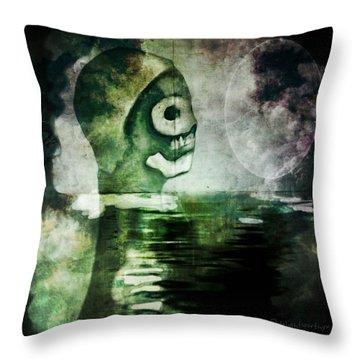 Scream Bloody Murder Throw Pillow