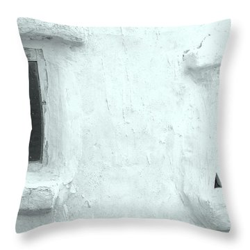 Scream Wall Throw Pillow
