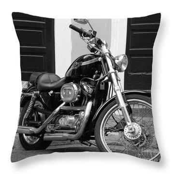 Screamin Eagle Throw Pillow by Debbi Granruth