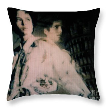 Screen #11 Throw Pillow