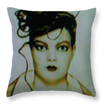 Screen #42 Throw Pillow
