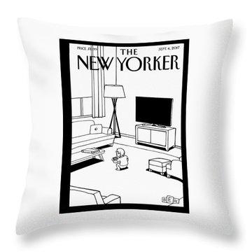 Screen Time Throw Pillow